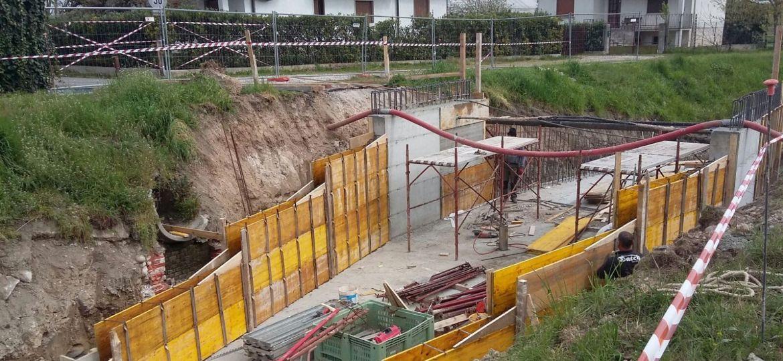 rifacimento ponte via salarino