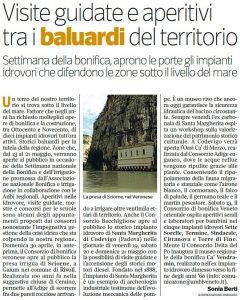 Il servizio apparso su ViviNordEst de Il Corriere della Sera in occasione dell'apertura al pubblico di Sciorne.