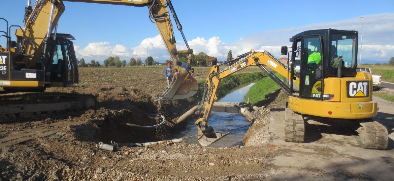 lavori consorzio scolo carpeneolo comune san pietro morubio ottobre 2020 (4)