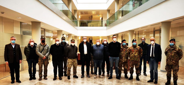paracadutisti alpini consorzi veronese alta pianura e leb incontro dicembre 2020 (1)